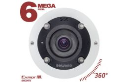 НОВИНКА! 6 МП FISHEYE IP-КАМЕРА BD3670FL2